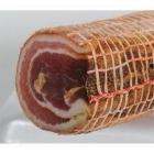 Poitrine de porc roulée et tranchée