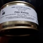 Pâté maison au foie gras de canard