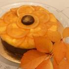 Entremets Rosace aux oranges (avec ou sans gluten)