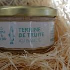 TERRINE DE TRUITE Basilic - Ferme du Ciron
