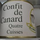 BOITE 4 CUISSES DE CANARD - Ferme de Troussin