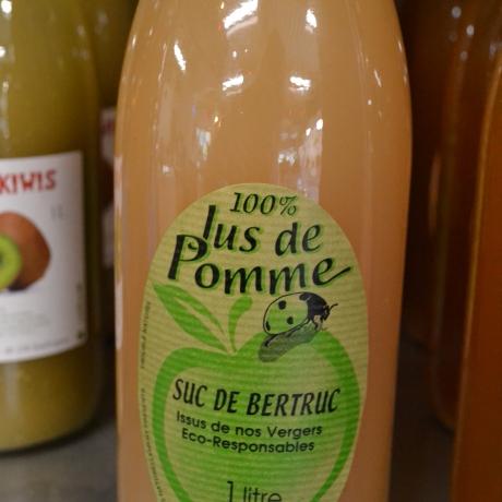 100% JUS DE POMME - Domaine de Bertruc