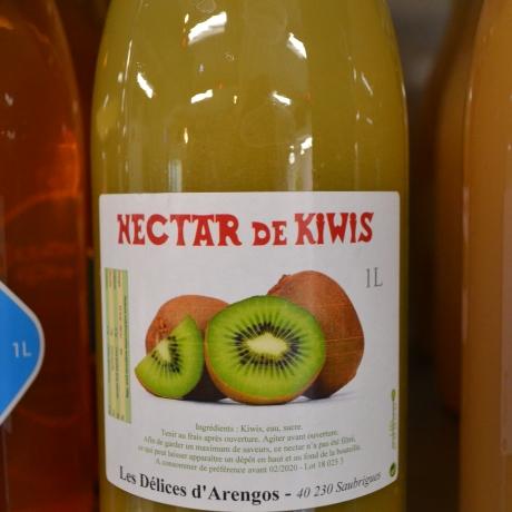 NECTAR DE KIWIS - Les délices d'Arengos