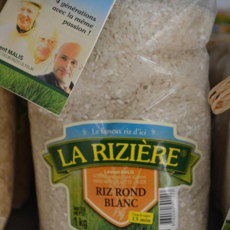 RIZ ROND BLANC - Rizière de l'Etang